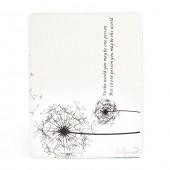 "Dandelion - чехол-подставка для iPad 2, 3, 4 ""Одуванчик"", белый"