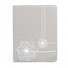 "Dandelion - чехол-подставка для iPad 2, 3, 4 ""Одуванчик"", серый"