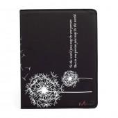 """Dandelion - чехол-подставка для iPad 2, 3, 4 """"Одуванчик"""", черный"""