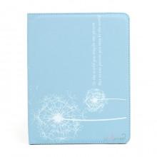 "Dandelion - чехол-подставка для iPad 2, 3, 4 ""Одуванчик"", голубой"