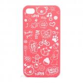 "Чехол для iPhone 4/4S ""Lopez"", розовый"