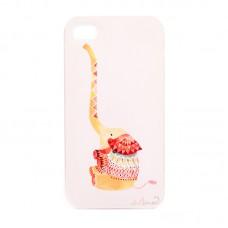 """Чехол для iPhone 4/4S  """"Нарядный слоник"""""""