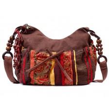 Сумка этническая 55267, текстиль