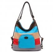 Сумка-рюкзак K2 55330, текстиль, яркие цвета