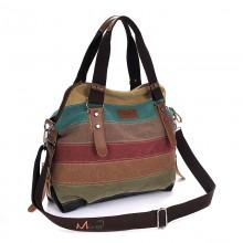 Сумка полосатая Azolla 55196, текстиль