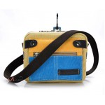 Сумка Azolla 55197, желто-синяя