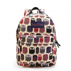 Рюкзак с совами Super Break, текстиль