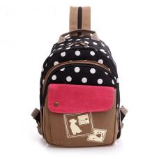 Рюкзак Dog Love мини 55353, холст, черный