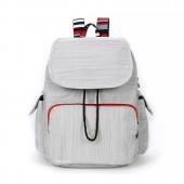 Рюкзак Bobo 55397, полиэстер, серый