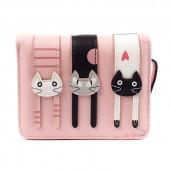 Кошелек с кошками Longcat, розовый