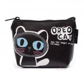 Кошелек Oreo Cat, черный