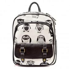Рюкзак с совами BW, текстиль