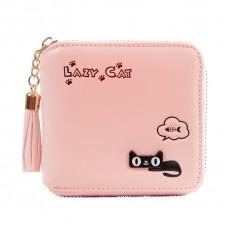 Кошелек Lazy Cat 55386, pu кожа, розовый