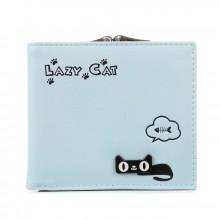Кошелек Lazy Cat 55387, pu кожа, голубой