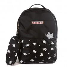 Рюкзак с принтом Котики 55381, полиэстер