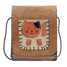 Сумка Little Cat, коричневая