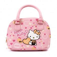 Сумка для девочек Hello Kitty 55274, pu кожа, розовая