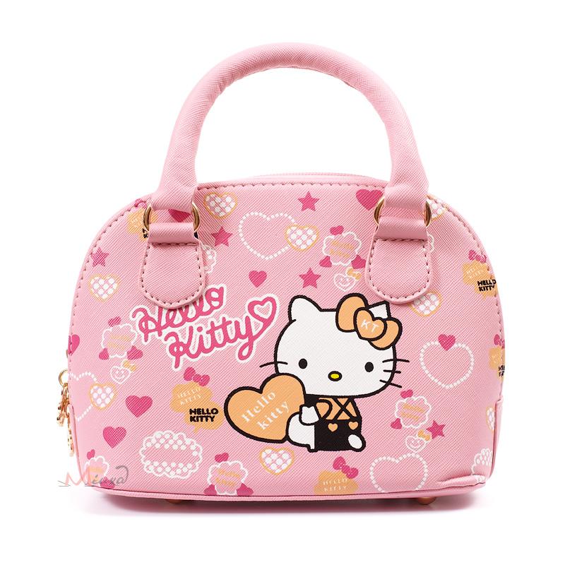 2823e0c5d5f6 Сумка для девочек Hello Kitty 55274, pu кожа, розовая