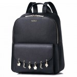 Рюкзак женский 55377, экокожа, мини, черный