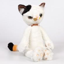 Мягкая игрушка - Сердитый кот, 36 см, белый